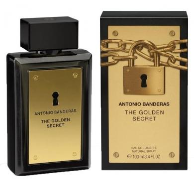 ادکلن مردانه آنتونیو باندراس گلدن سکرت